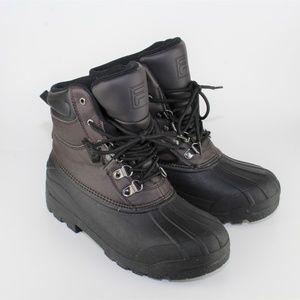 Fila Shoes   Mens Brown Fila Snow Boots